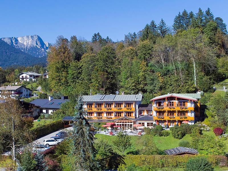 Hotel Georgenhof im Sommer
