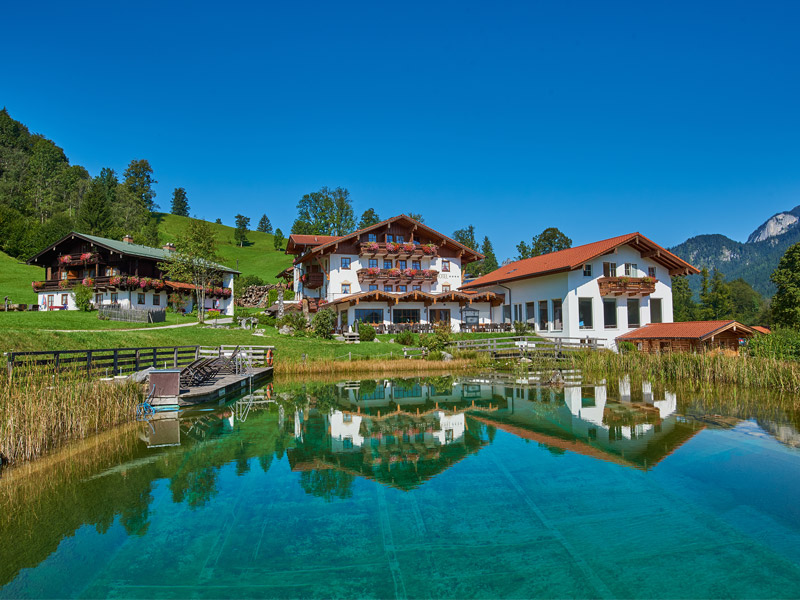 Naturhotel Reissenlehen im Sommer