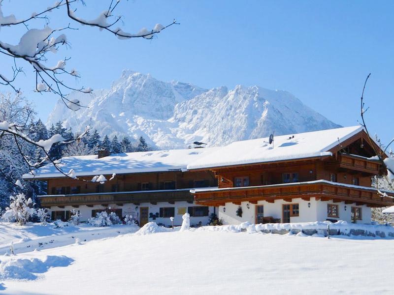 Ferienwohnung Frechenlehen im Winter Schönau a. Königssee bei Berchtesgaden