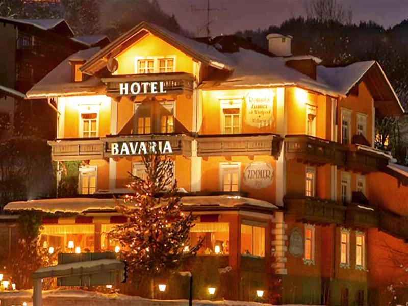 Hotel Bavaria im Winter