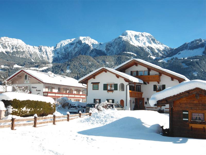 Ferienwohnung Landhaus Maltermoos im Winter