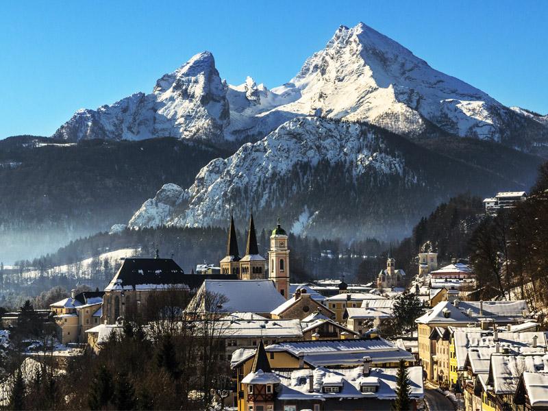 Ferienhaus / Ferienwohnung Brandner im Winter Berchtesgaden - Stanggaß