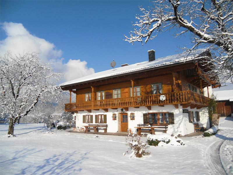 Ferienwohnung Gästehaus Rennerlehen im Winter
