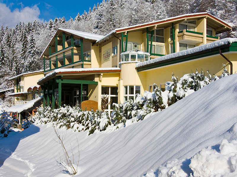 Alpenhotel Fischer im Winter