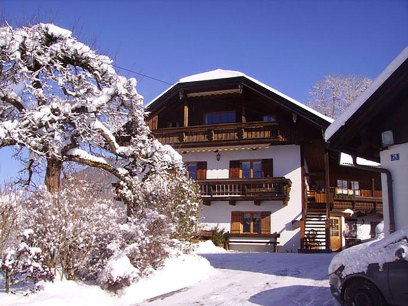 Ferienwohnung Haus Vogelrast im Winter
