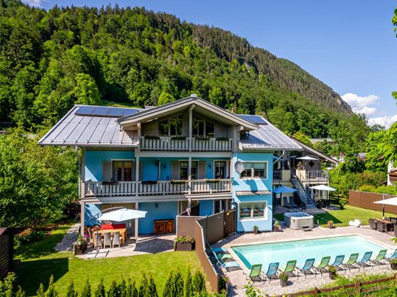 Ferienparadies Alpenglühn im Sommer