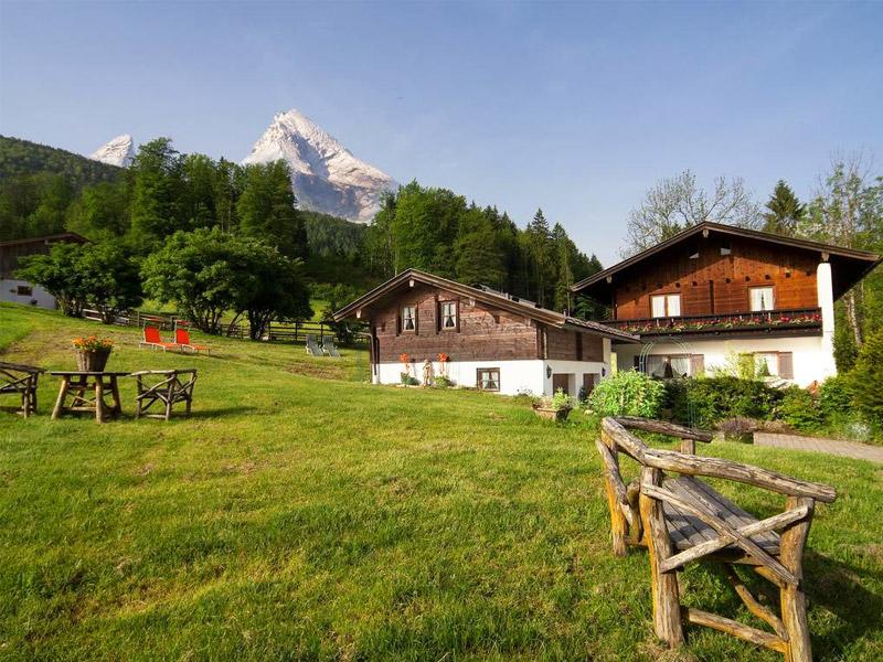 Appartementhaus & Ferienwohnung Zechmeister im Sommer Schönau a. Königssee bei Berchtegaden