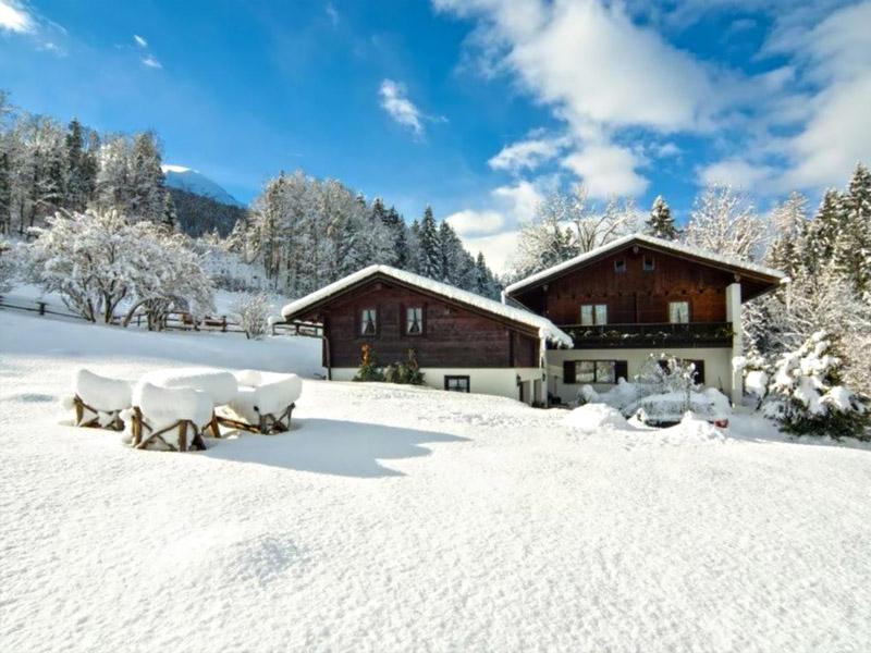 Appartementhaus & Ferienwohnung Zechmeister im Winter Schönau a. Königssee bei Berchtegaden