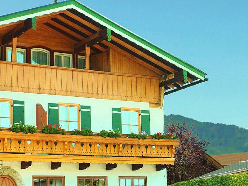 Ferienwohnung Gästehaus Watzmannblick im Sommer Strub bei Berchtesgaden