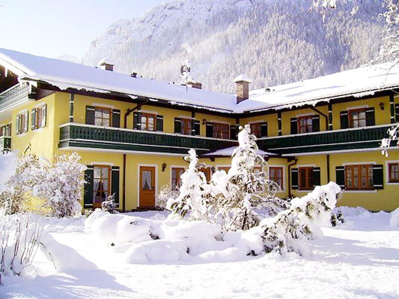 Ferienwohnung Landhaus Waldhauser im Winter