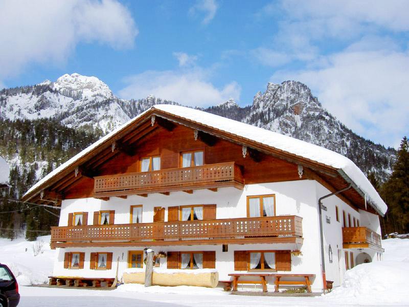 Ferienwohnung Wiesenhäusl im Winter