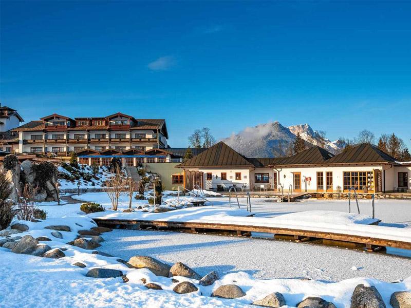 Alpenhotel Zechmeisterlehen im Winter