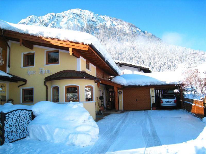 Ferienwohnung Haus Maria im Winter