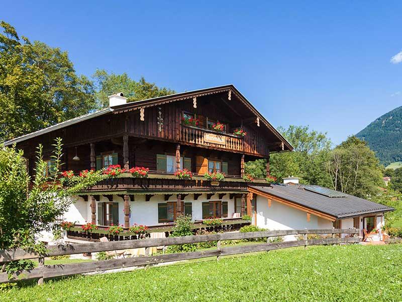 Ferienwohnung Haus Marienlehen im Sommer