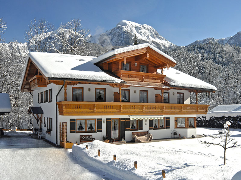 Ferienwohnung Landhaus Eschenbach im Winter