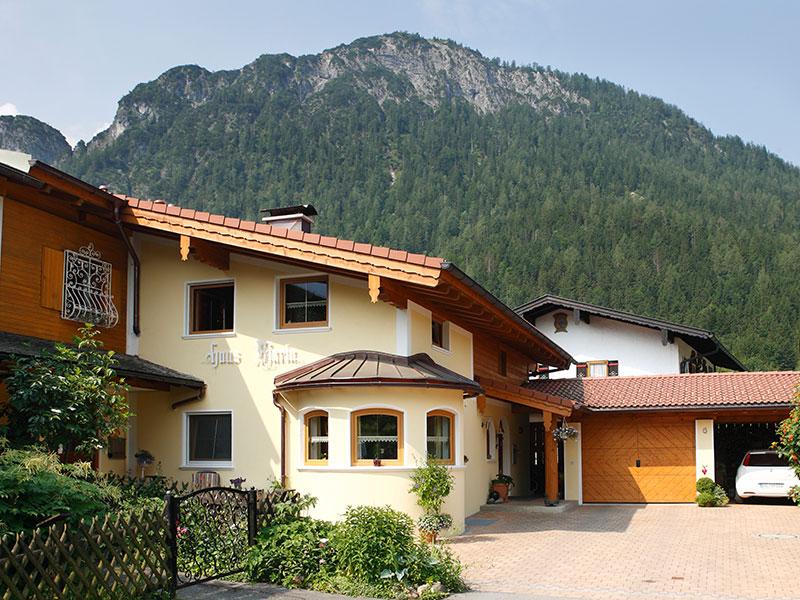 Ferienwohnung Haus Maria im Sommer