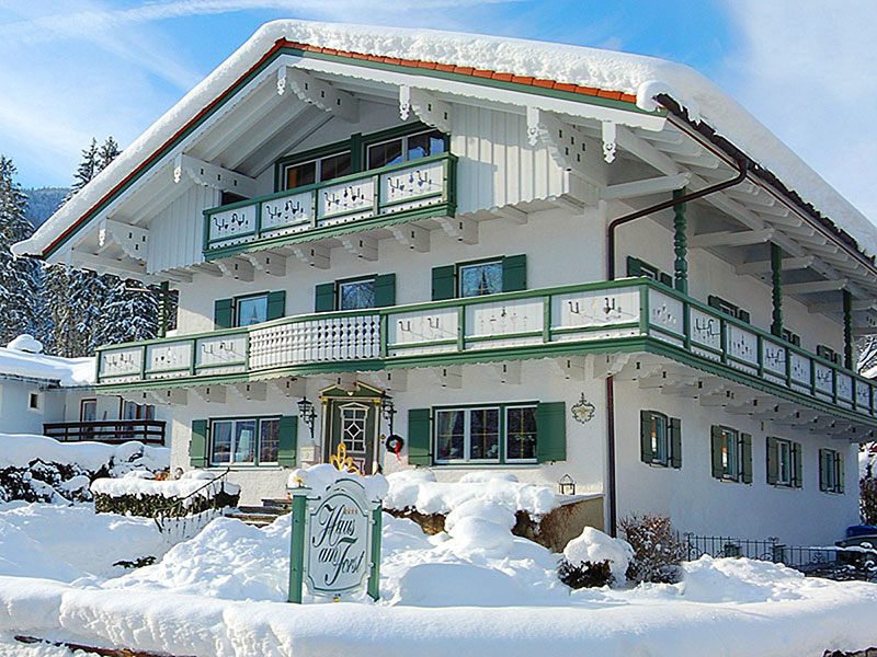 Pension Haus am Forst im Winter