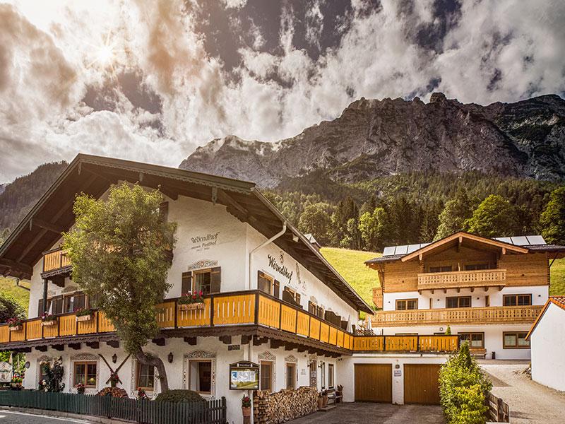 Hotel-Gasthof Wörndlhof - Das REFUGIUM im Sommer