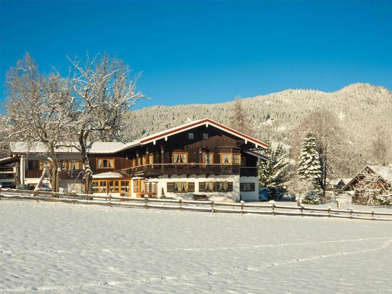 Ferienwohnung Gästehaus Grünsteineck  im Winter