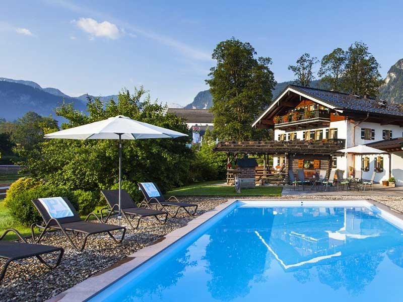 Gästehaus & Ferienwohnung Egglerlehen im Sommer