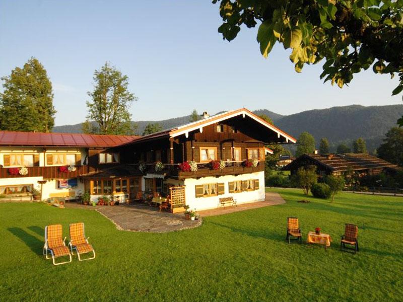 Ferienwohnung Gästehaus Grünsteineck  im Sommer