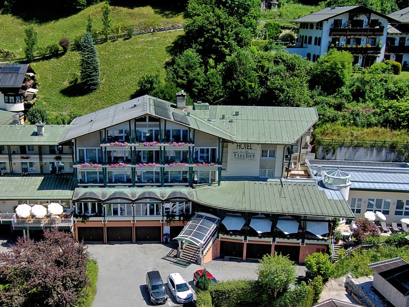 Alpenhotel Fischer im Sommer