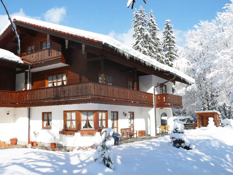 Ferienwohnung Am Tradenlehen im Winter