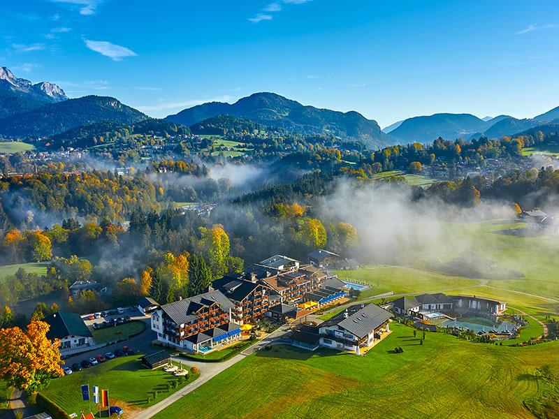 Alpenhotel Zechmeisterlehen im Sommer