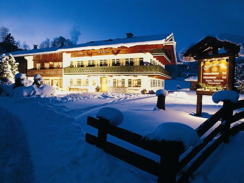 Gästehaus & Ferienwohnung Egglerlehen im Winter Schönau a. Königssee