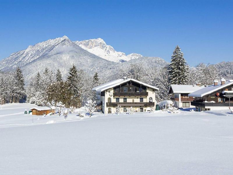 Ferienwohnung Haus Sammerllehen im Winter