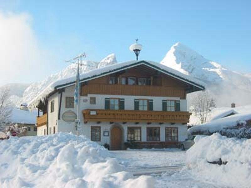 Ferienwohnung Gästehaus Watzmannblick im Winter Strub bei Berchtesgaden