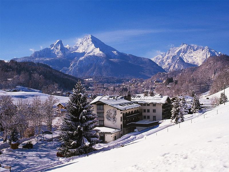 Alpensport-Hotel Seimler im Winter