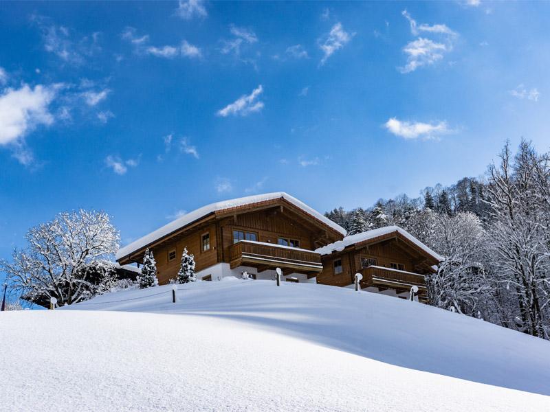 Hotel & Chalets Lampllehen im Winter