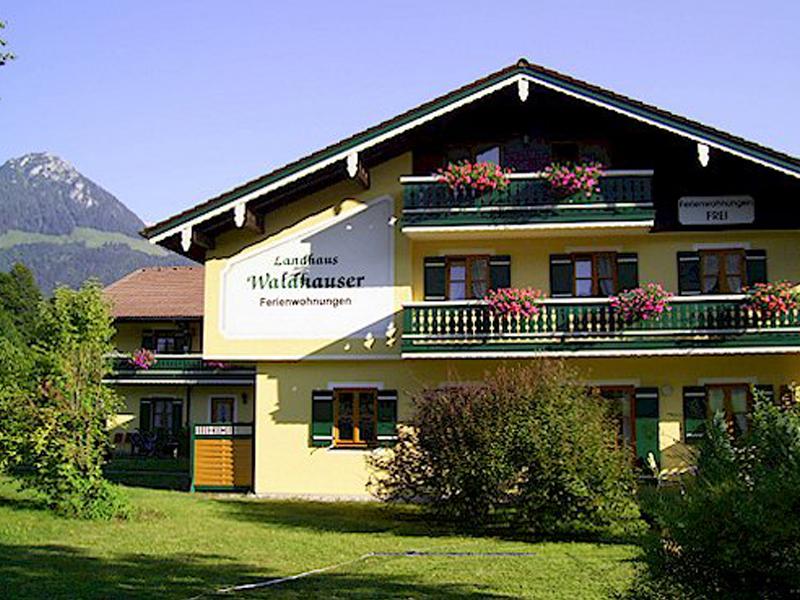 Ferienwohnung Landhaus Waldhauser im Sommer