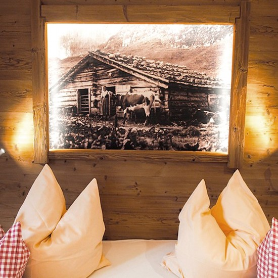 Rustikale Ferienwohnung Watzmann  Schlafzimmer