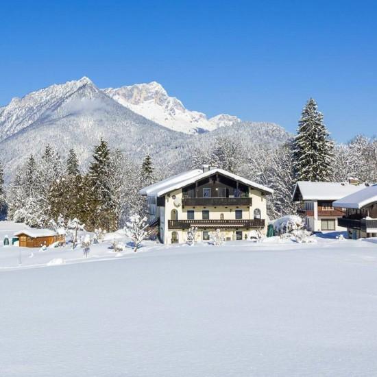 Ferienwohnungen Haus Sammerllehen im Winter
