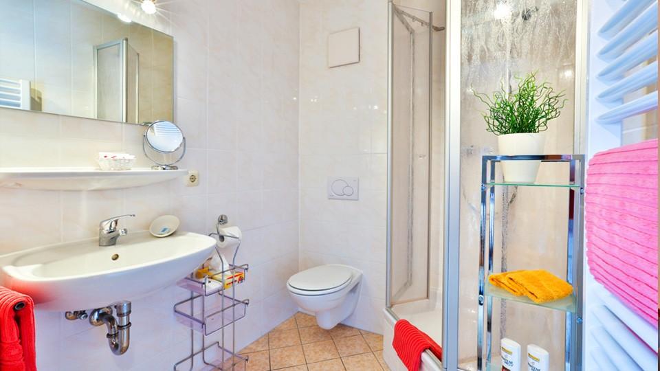 Gästehaus Heißenlehen Badezimmer