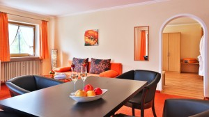 Gästehaus Heißenlehen Suite Reiteralpe Wohnbereich