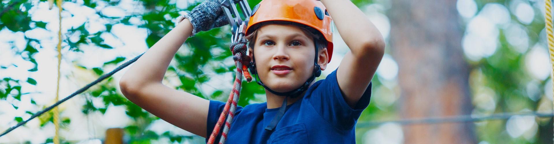 Klettern für Kinder im Berchtesgadener Land