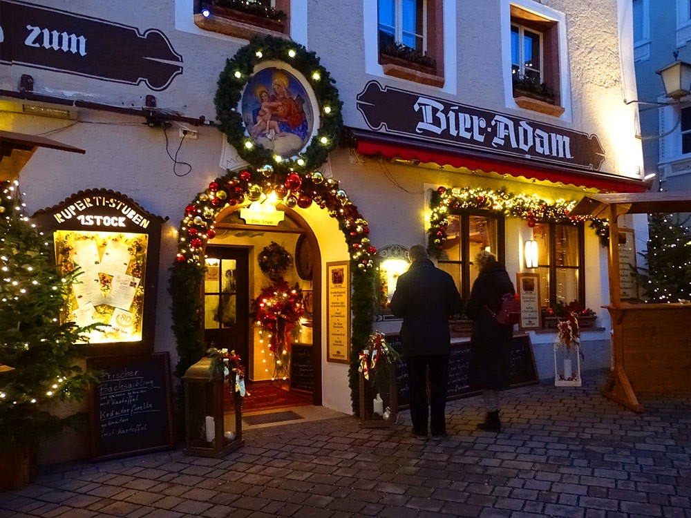 Berchtesgaden Advent Gastronomie