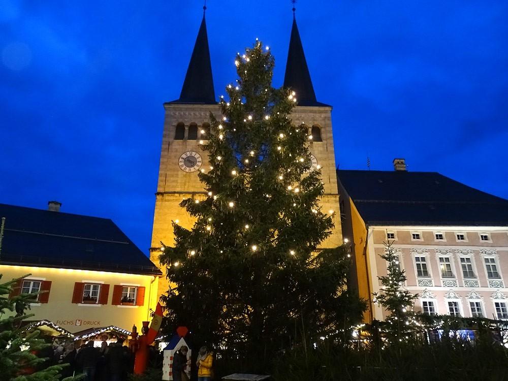 Berchtesgaden Advent Schlossplatz