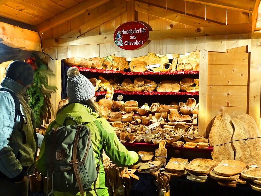 Berchtesgaden Advent Olivenholz