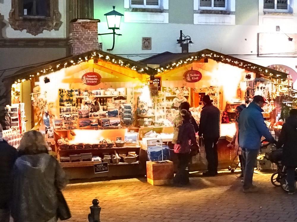 Berchtesgaden Advent Seifenkistl Weihnachtsdruckereil