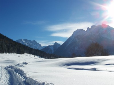 Winter in Ramsau