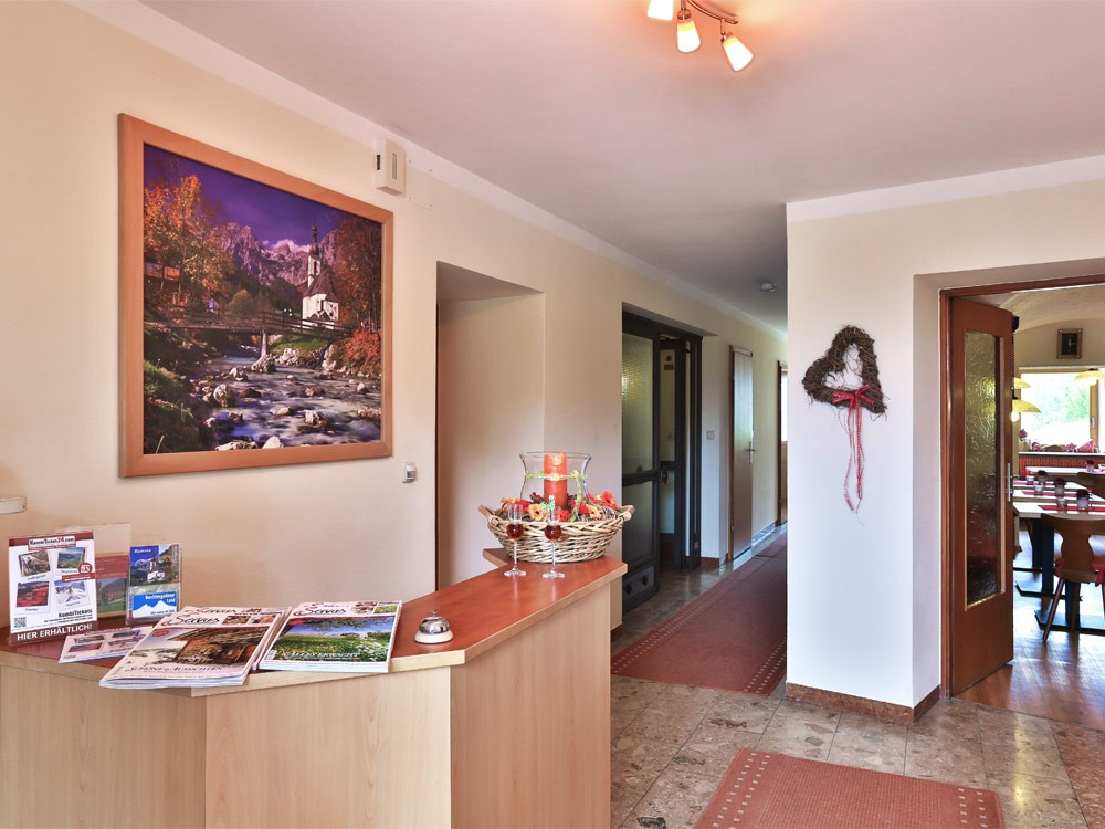 Gästehaus Heißenlehen Eingangsbereich
