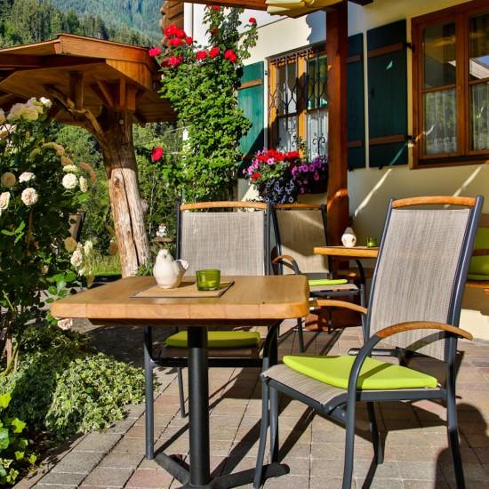 Gästehaus Steinberg Terrasse