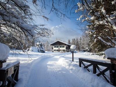 Gästehaus Pfingstlerlehen-Dependance Flinsenlehen im Winter