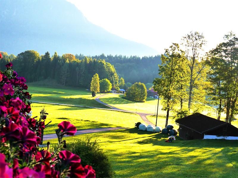 Die Gemeinde Bischofswiesen im Berchtesgadener Land