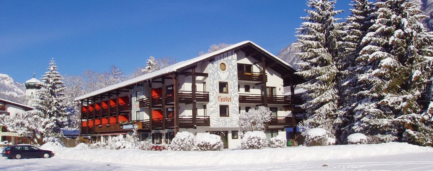 Alpenhotel Brennerbascht im Winter