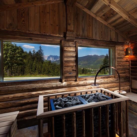 Sauna im Alpenhof